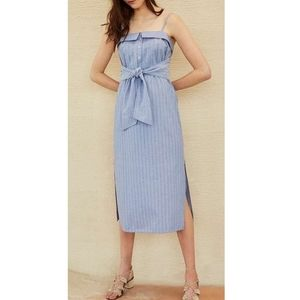 Club Monaco Radura dress French blue size 12